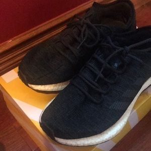 huge discount 2b607 d716d adidas Shoes - Mens adidas PureBoost Boost Core Black Size 11